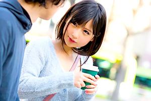 【素人】ショートカットが可愛い小顔キュート女子とエッチ!