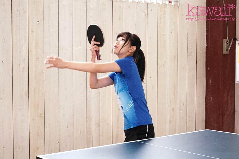 可愛過ぎる天才卓球美少女 石川みりん19歳AV決心
