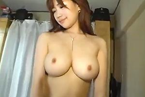 【個人撮影】乳首の大きさ、張り、形が完璧なGカップ巨乳美女