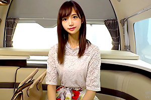 【人妻ナンパ】顔と感じ方が可愛い!青山在住のおしゃれ妻とカーセックス