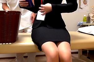 【盗撮】仕事のストレスを癒しにきた丸の内OLを狙う悪質マッサージ