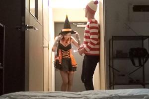 【盗撮】ハロウィンでナンパした美人女子大生(21)をお持ち帰りしたSEX動画