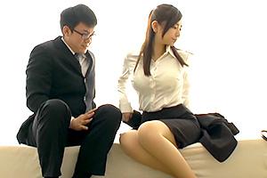 【一般男女モニタリングAV】巨乳の女上司が俺のためにSEX指導してくれるなんて…
