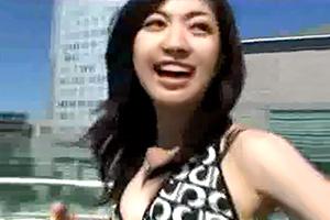 【素人】笑顔が素敵、超可愛い女子大生とデート後にハメ撮り