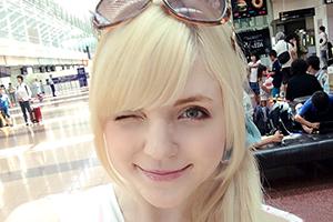 【アメリア・イヤハート】AV出演するため、欧州から来日してきた白人美少女