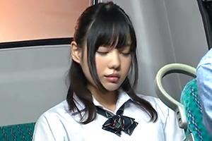 森田まゆ バスで少しうたた寝してしまった美少女JKの末路・・・