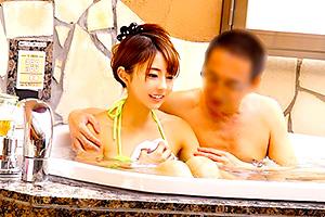 河南実里 仲良くなるには混浴が一番!職場の男女がお風呂に入った結果…