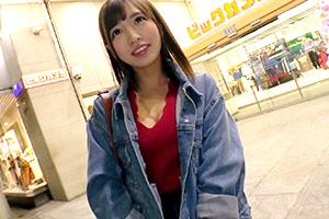 【募集ちゃん】潮吹きの嵐を吹かせた美巨乳美容部員(21)のSEX動画