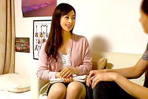 【熟女ナンパ】ガードが固そうなアラフォー熟女を自宅連れ込み