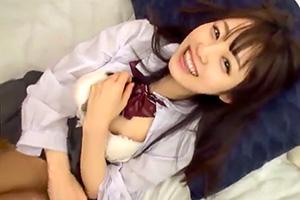 【素人】笑顔がカワイイ!愛くるしいJKと円光ハメ撮り