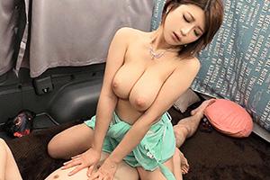 【素人ナンパ】推定Hカップの美爆乳エステティシャン(23)に無許可生中出しするSEX動画