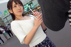 【ナンパTV】新宿でナンパしたマシュマロHカップ爆乳美少女とのSEX動画