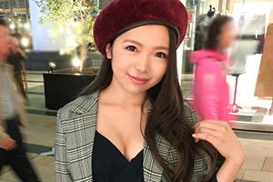 【ナンパTV】六本木のワインイベントでナンパしたベレー帽が可愛い巨乳美少女(22)とのSEX動画
