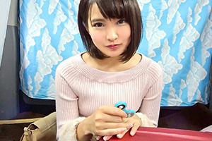 【隙だらけの上京娘】広○すず似の京美人女子大生(21)との中出しSEX動画