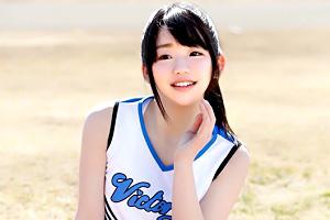 くっそ可愛いな…名門学校のチアリーディング部の美少女がAVデビュー!