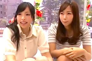 【マジックミラー号】素人娘×電マ 本気汁が染み出す絶頂セックス!