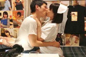 夏川あかりちゃんがファンと肉体的交流w看護婦コスプレで騎乗位挿入w