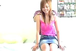 【素人盗撮】リアルだわ。ピンクキャミソールのお姉さんの連れ込み動画
