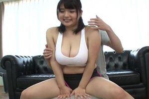 後藤里香ちゃんの白タンクトップ着衣の巨乳を堪能しようw
