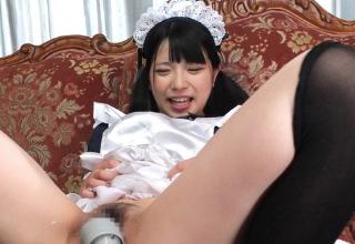 【上原亜衣】ご主人様のいいなりロリメイド♡足コキでご奉仕♡