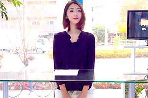 【マジックミラー号 香苗レノン】女子アナ特訓!原稿を読んでる最中にイタズラ