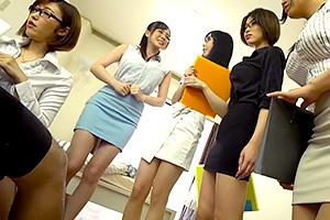 【水野朝陽 君島みお】5人全員Gカップ以上!家にやってきた家庭教師のおっぱい授業