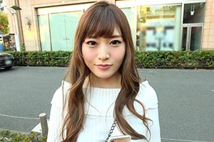 【シロウトナンパ】強気な態度が一変する超一流エロテク美人女子大生(20)とのSEX動画