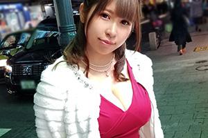 【ナンパTV】結婚式帰りの超爆乳Iカップアイリスト(21)とのSEX動画 in赤坂見附