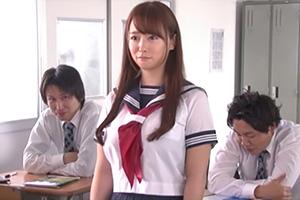 白石茉莉奈 29才の女子校生。男子校で正体がAV女優とバレた悲劇…