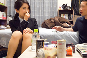 【盗撮】「彼氏がいるからダメ!」と拒否られた美人OL(20)を落としたSEX動画