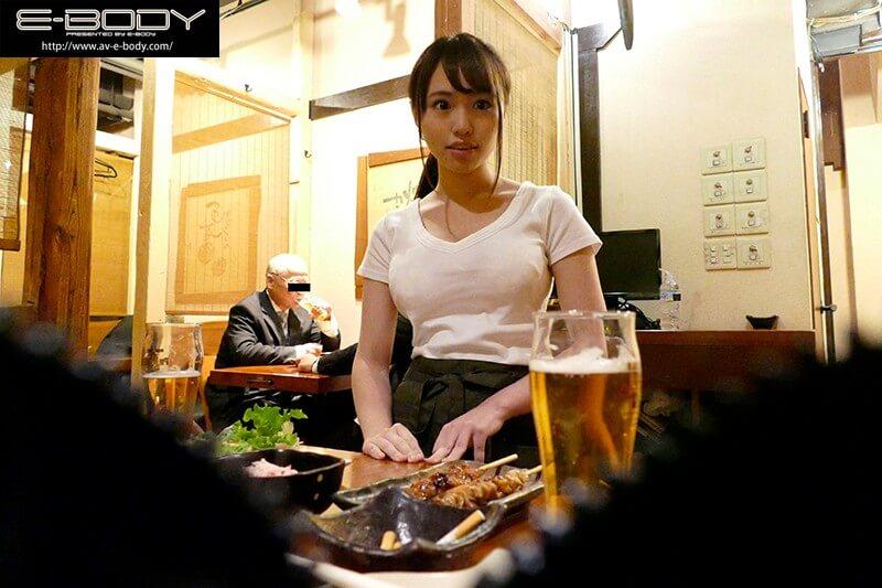 相沢夏帆 居酒屋で働くスーパー美巨乳Gカップ看板娘