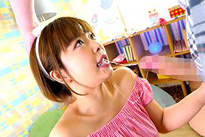 紗倉まな イラマチオで美少女の喉奥Gスポットを刺激!