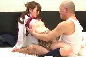 天使もえ JK見学リフレの1番可愛い美少女を店外デートでラブホに連れ込む!