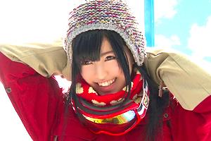 【マジックミラー号】ゲレンデお見合い大作戦!超可愛い女子大生とエッチに発展!