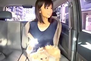 【素人】愛犬の散歩中にナンパした人妻とホテルセックス!