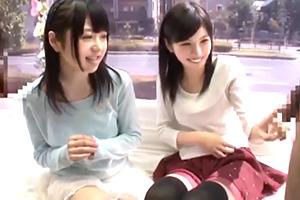 【マジックミラー号】女子大生が親友の目の前で限界羞恥!