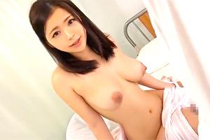 鶴田かな 長期入院でムラムラした巨乳美少女がカーテンの隙間から誘惑してきた!