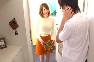 本田莉子「声大きくてごめんなさい…」巨乳人妻が菓子折り持って謝罪にきた。