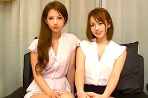 【センズリ鑑賞】左は鬼フェラ、右は巨乳女神。これ以上ない燃える3P
