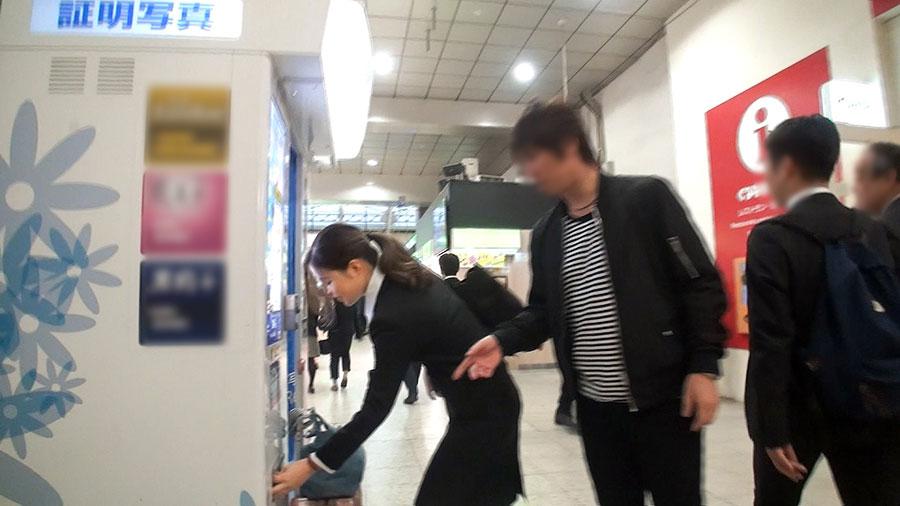 【ナンパTV】上野駅でナンパした出張中の美巨乳OLとのSEX動画