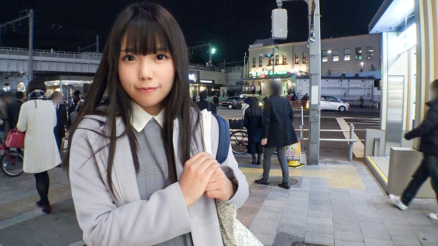 【ナンパTV】上野駅でナンパした純白下着が可愛い美巨乳女性とのSEX動画