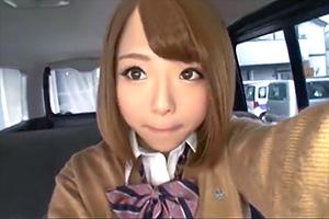 【素人】出会い系で知り合った今時の美少女JKと円光SEX