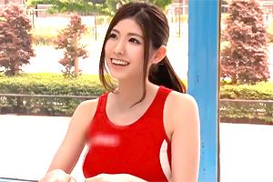 【マジックミラー号】手足の長い女子大生ランナーにHな低周波マッサージ!