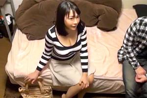 【盗撮】ナンパしてきたイケメンと背徳の不倫SEXを愉しむ巨乳人妻