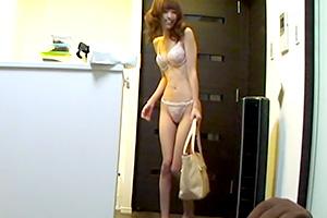 希志あいの スタイル超絶!モデル級美女の自宅連れ込み隠し撮り