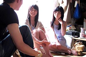 【上原亜衣 なごみ】風呂なし貧乏部屋に美少女がやってきた!