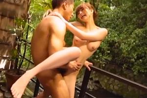 吉沢明歩 理性を捨てて本能のままに求め合う露天風呂セックス!