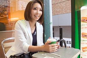 【ナンパTV】外苑前でインタビューと称して美人OLをホテルでハメまくったSEX動画