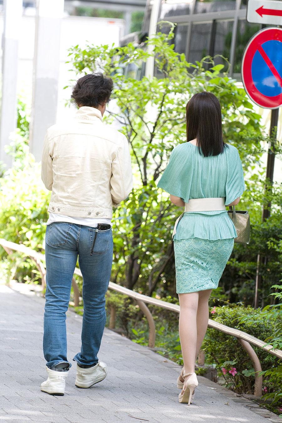 【セレブ妻】文京区でナンパした巨乳美人セレブ妻(27)との中出しSEX動画