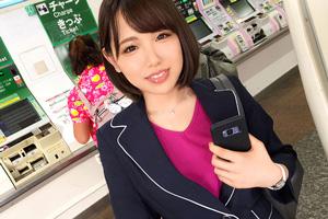 【ナンパTV】「ダメダメダメ。。。」満更でもない巨乳美人OL(25)とのSEX動画 in高田馬場